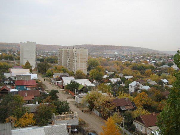 Заводской район города Саратова Старый Комсомольский поселок